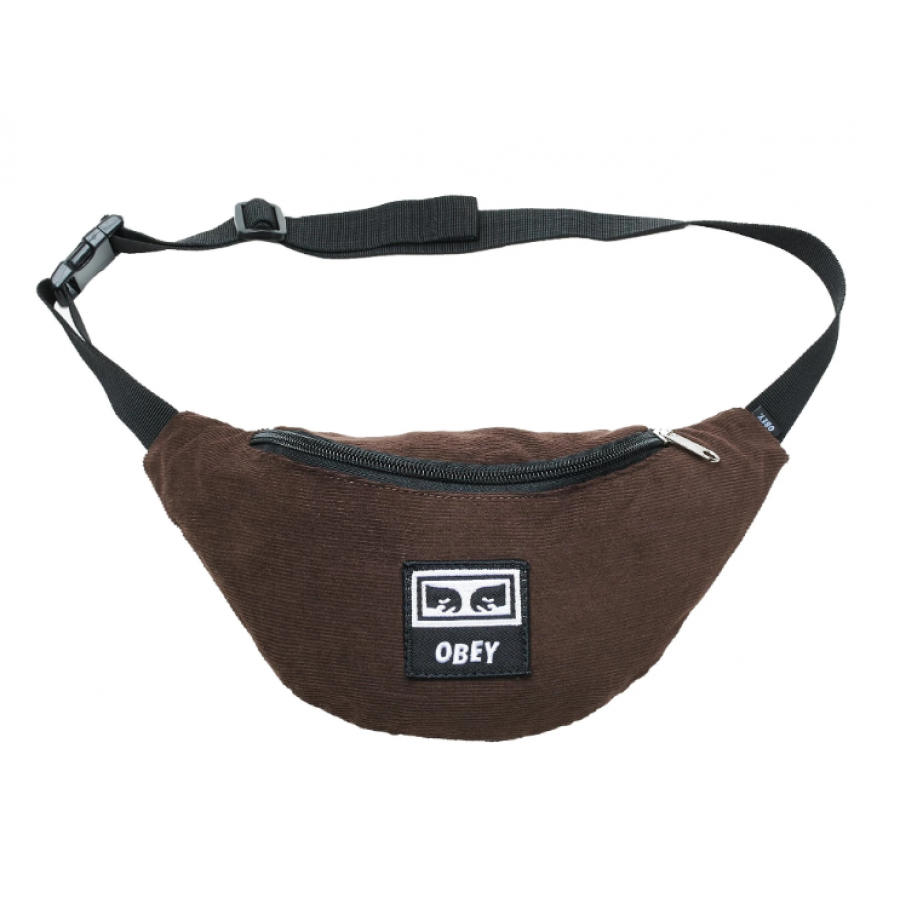 Obey Wasted Hip Bag - Brown