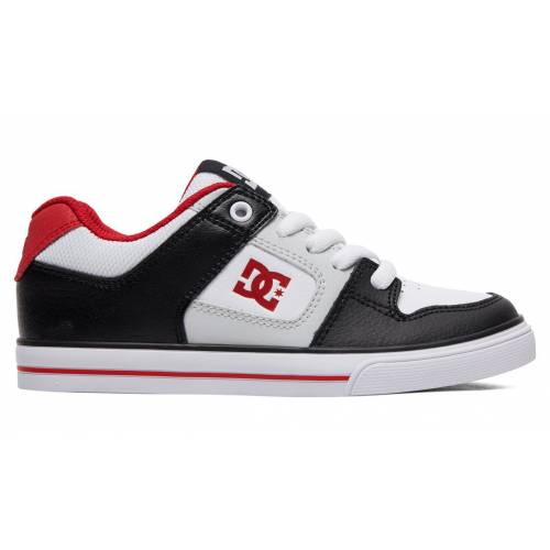 DC Shoes Pure Shoes - Black/Grey/Red