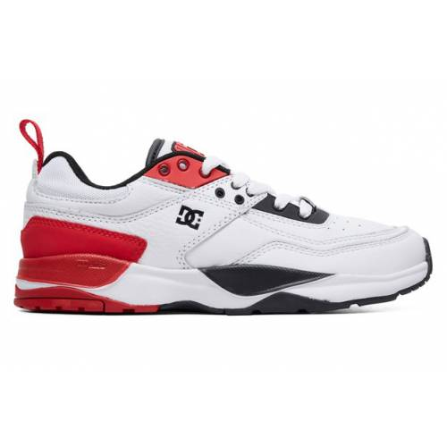 DC Shoes E.Tribeka SE Shoes - White/Red/Black