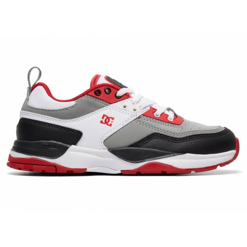 DC Shoes E.tribeka Shoes - White/Grey/Red
