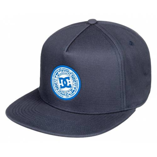 DC Shoes Reynotts Snapback Hat - Black Iris