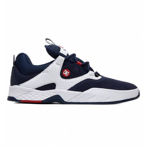 DC Shoes Kalis S Skate Shoes - Navy/White