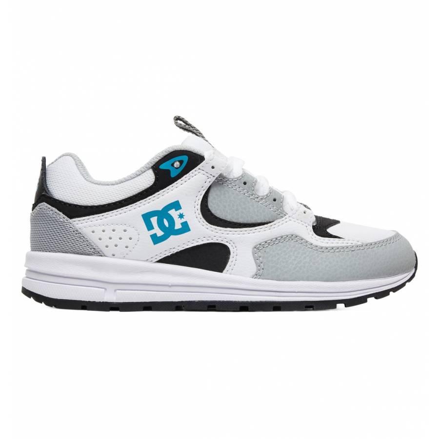 DC Shoes Kalis Lite - Grey / Blue / White