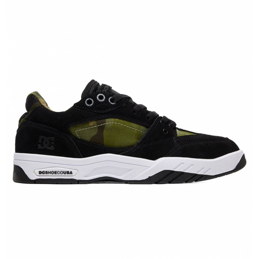 DC Shoes Maswell Shoes - Black / Camo Print