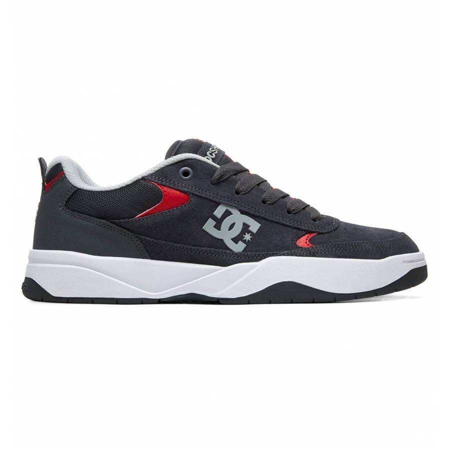 DC Shoes Penza M - Grey / Grey / Red
