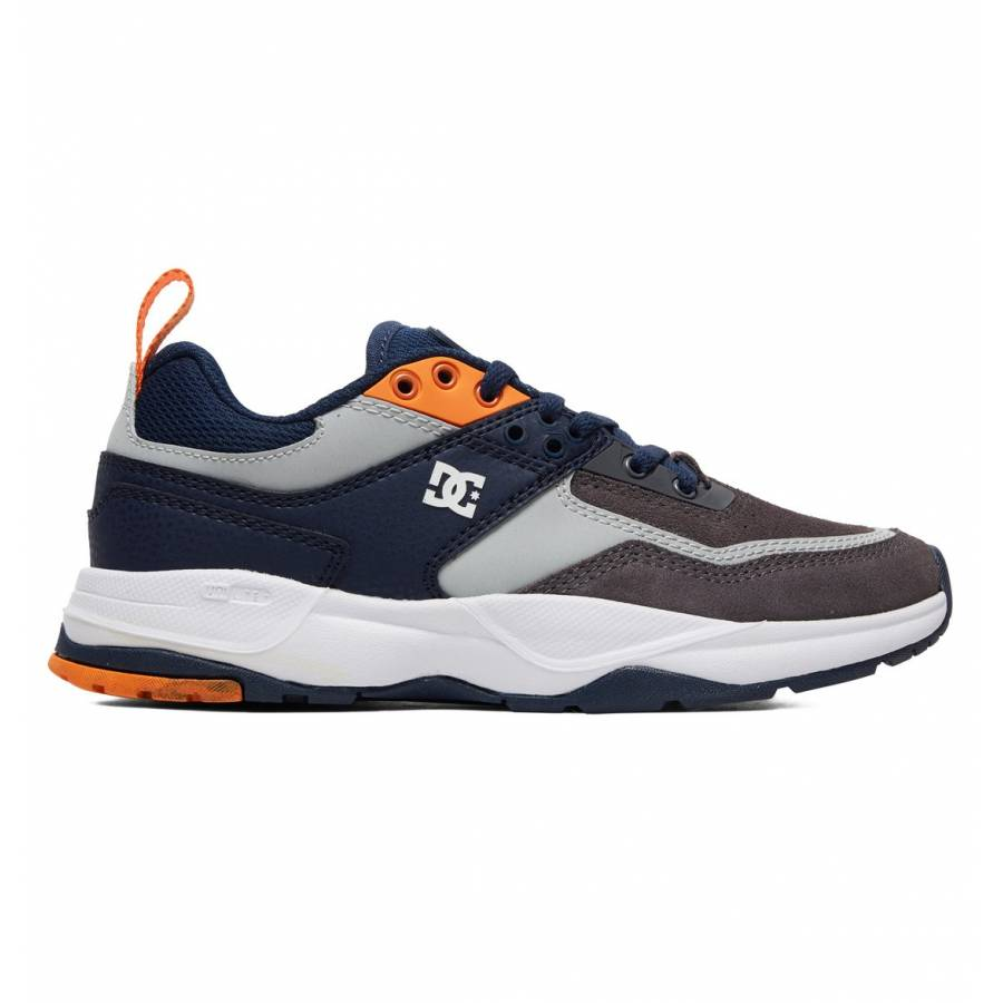 Dc Shoes Tribeka SE Kids Shoes - Grey / Dark Navy
