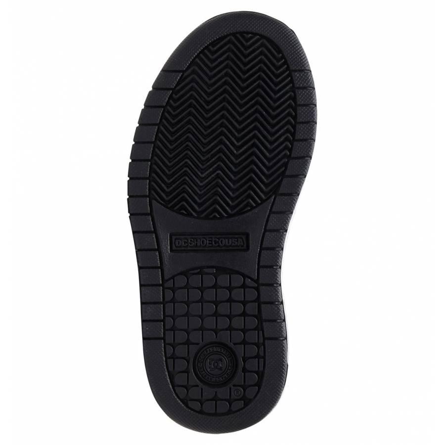 Dc Shoes Kids Court Graffik SE Shoes - Grey / Dark Navy