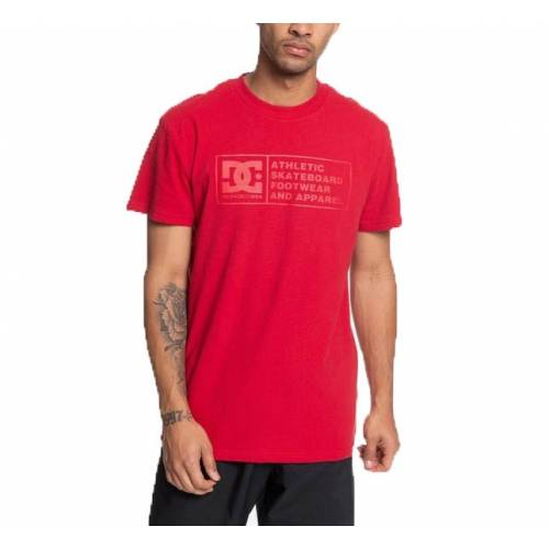 DC Shoes Density Zone T-shirt - Chili Pepper