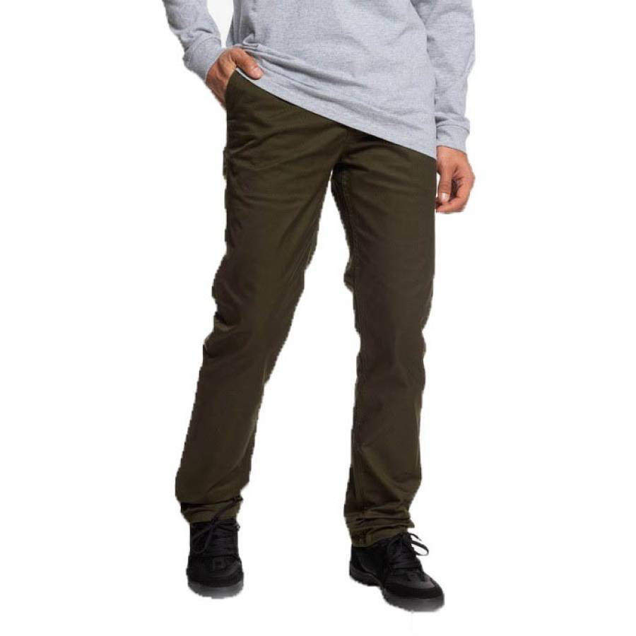 DC Shoes Worker Straight Fit Jeans - Dark Olive