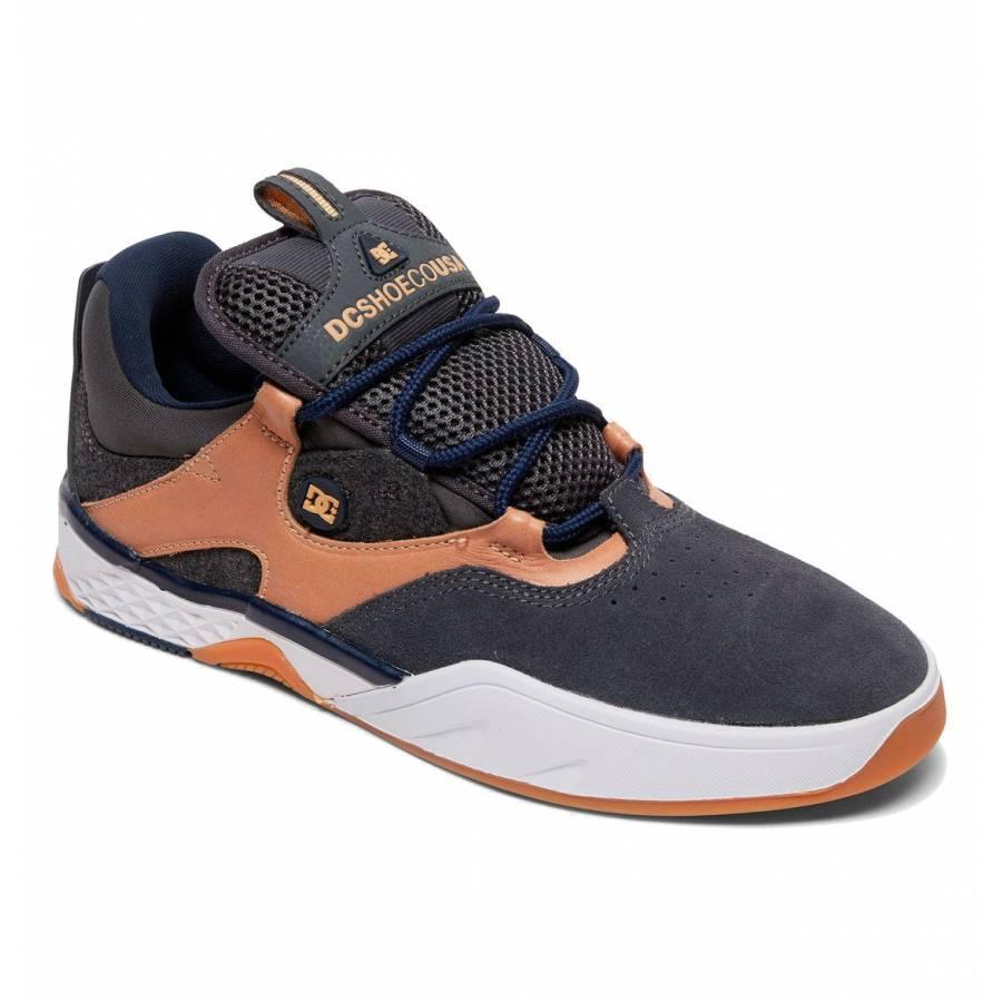 Dc Shoes Kalis Lite Shoes -  Grey / Dark Navy