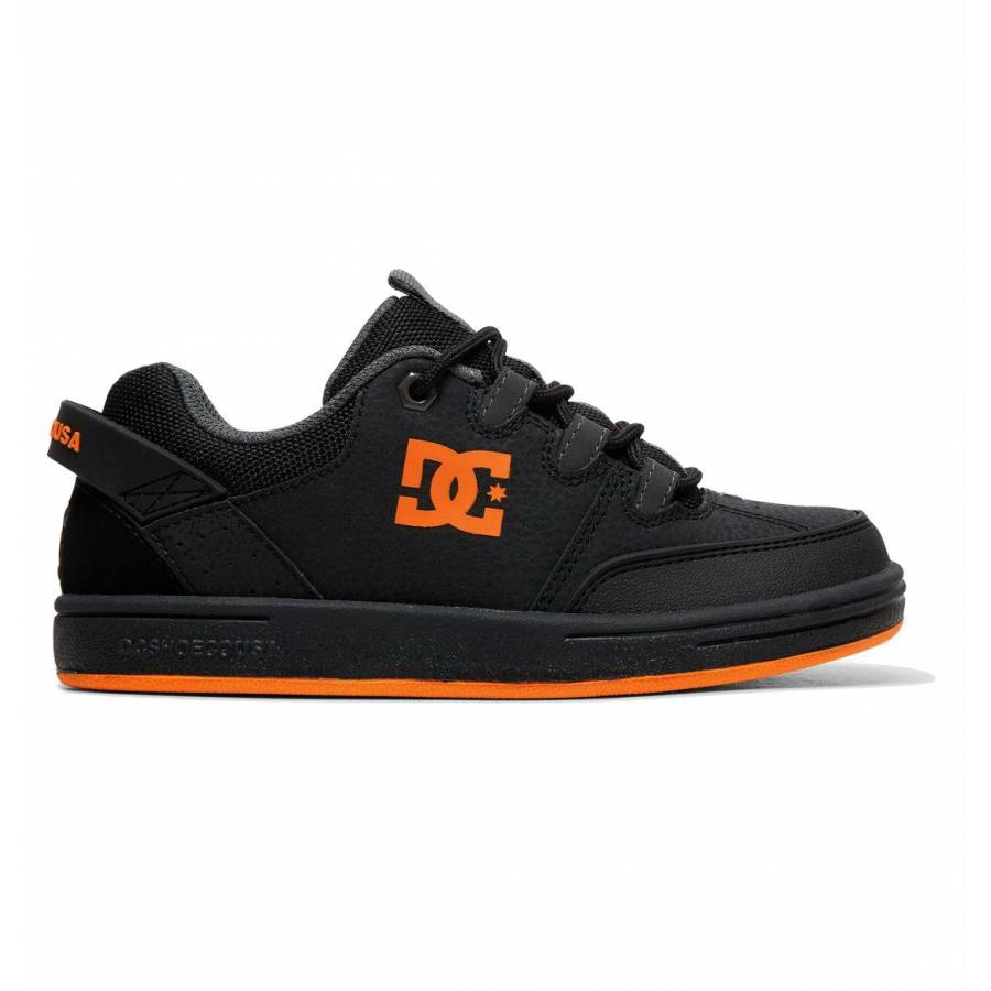 DC Shoes Syntax - Black / Flourescent Orange