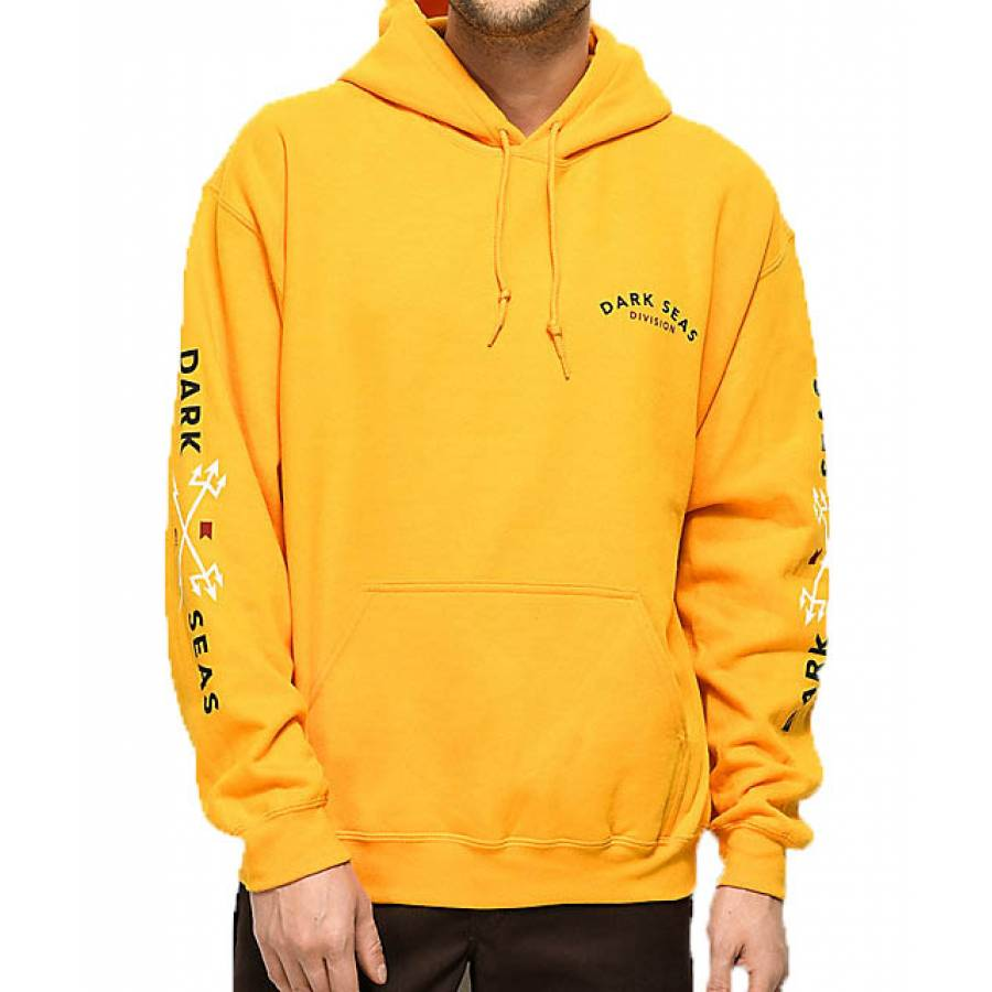Dark Seas Headmaster Pullover Hood - Gold