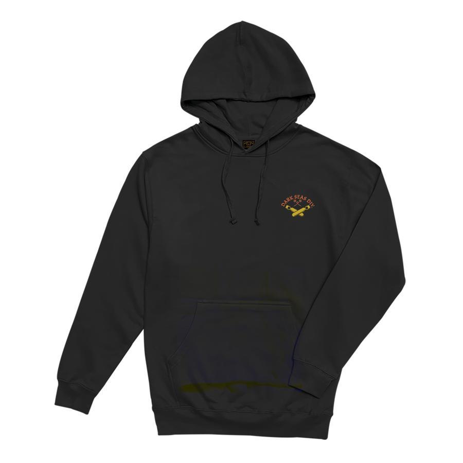 Dark Seas Justice Pullover Hood - Black