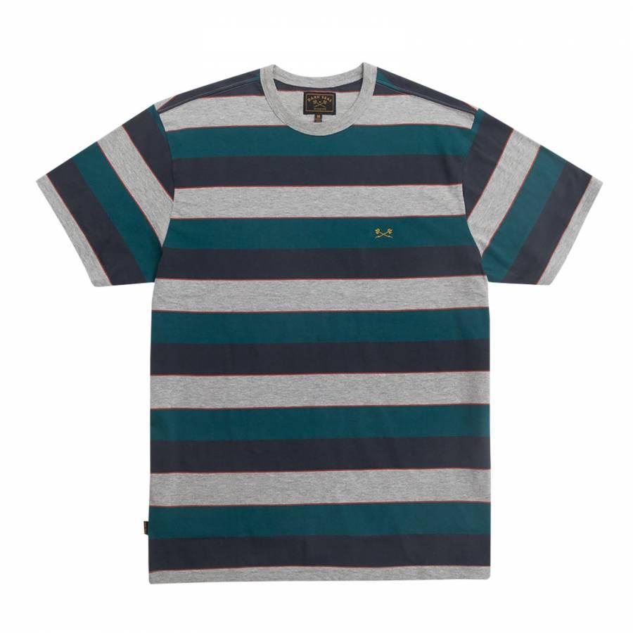 Dark Seas Lupin Knit - Navy / Teal