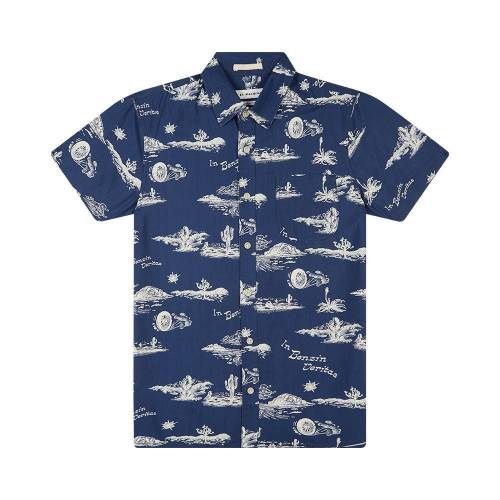 Deus Ex Machina Ralph Springs Shirt - Blue Springs...