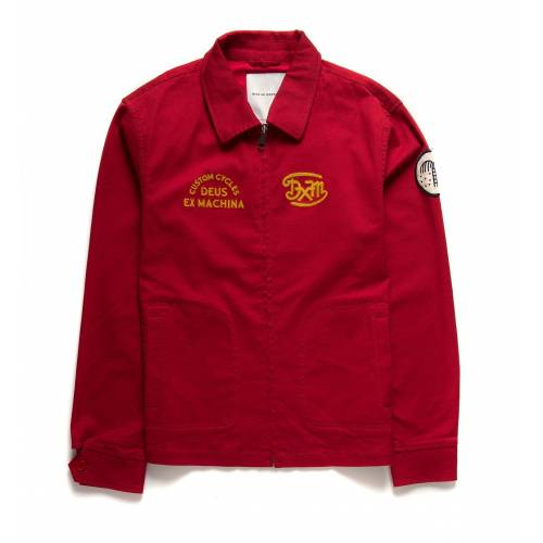 Deus Ex Machina Diego Drizzler Jacket - Chilli Pep...