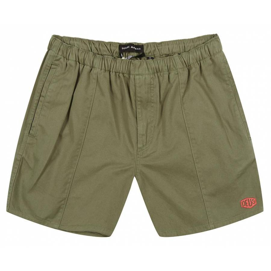 Deus Duke Short - Lichen Green