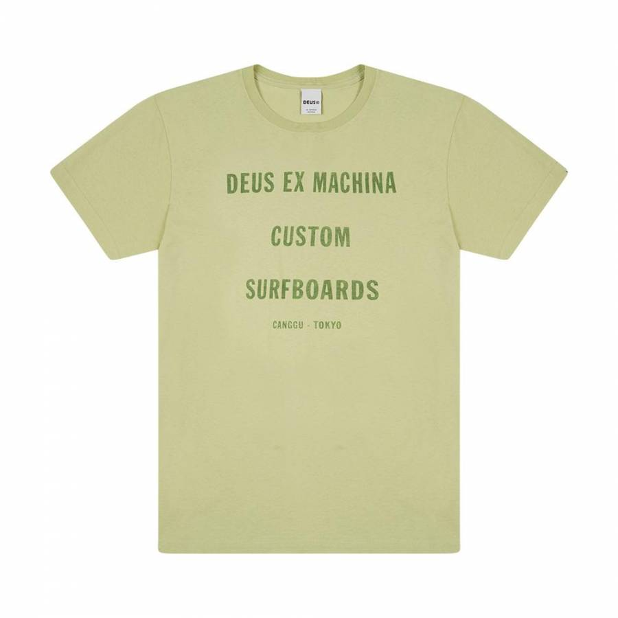 Deus Ex Machina Tanner Tee - Pale Green