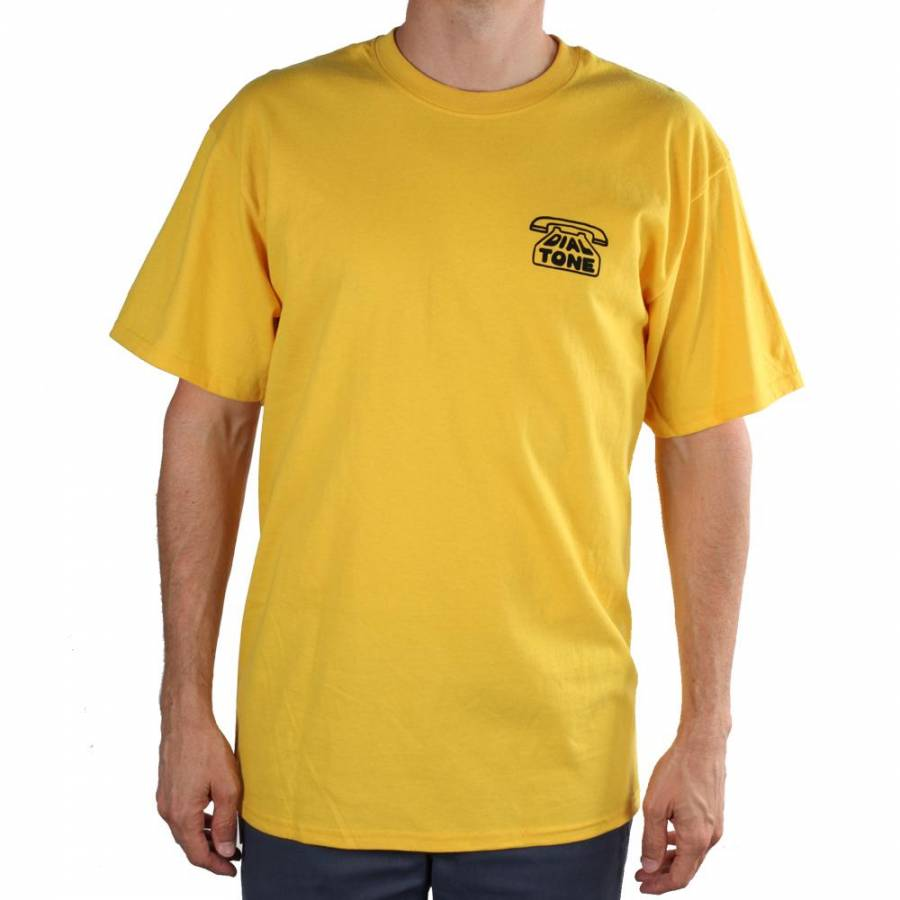 Dial Tone Wheel Co Chasing Tail Tee - Marigold