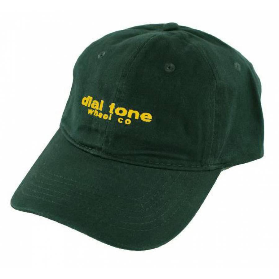 Dial Tone Wheel Co Trademark Cap - Forest Green