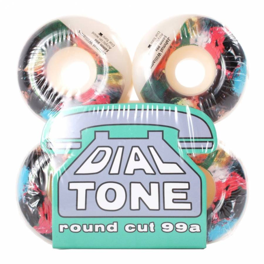 Dial Tone Wheel Co Jahmal Williams Abstract Round ...