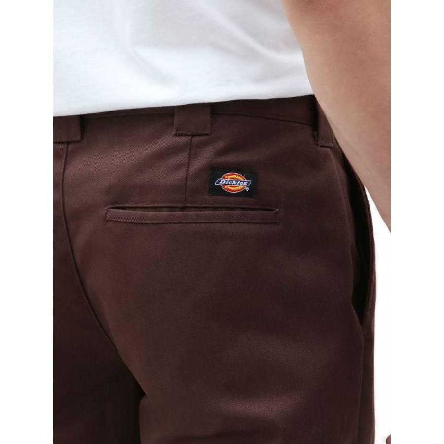 Dickies Slim Fit Work Pant - Chocolate Brown