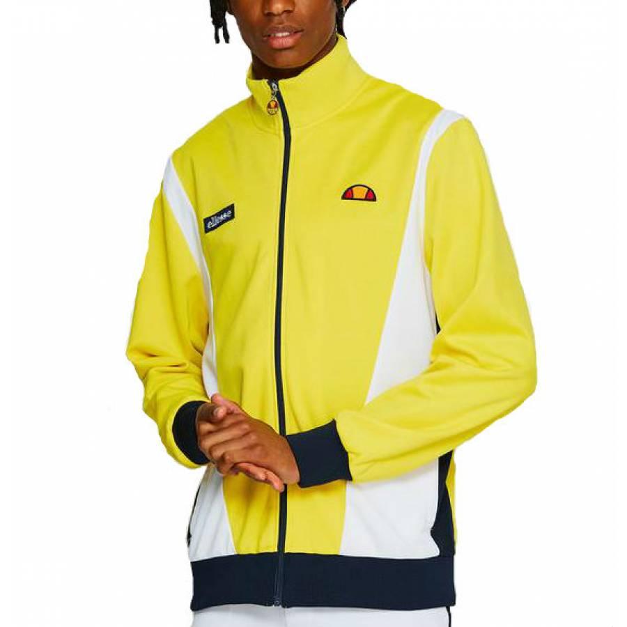 Ellesse Vilas Track Top Jacket - Yellow