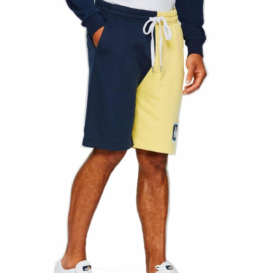 Ellesse Choppa Oversized Shorts - Light Yellow