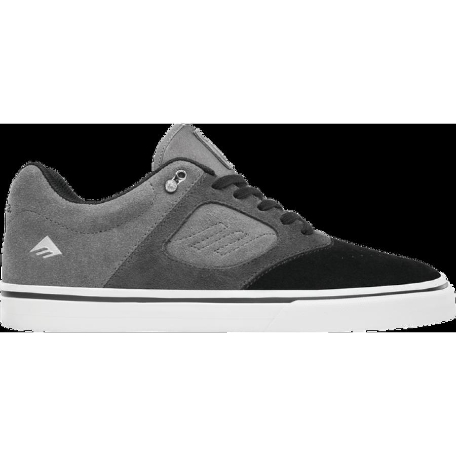 Emerica Reynolds 3 G6 Vulc - Black/Dark Grey/Grey