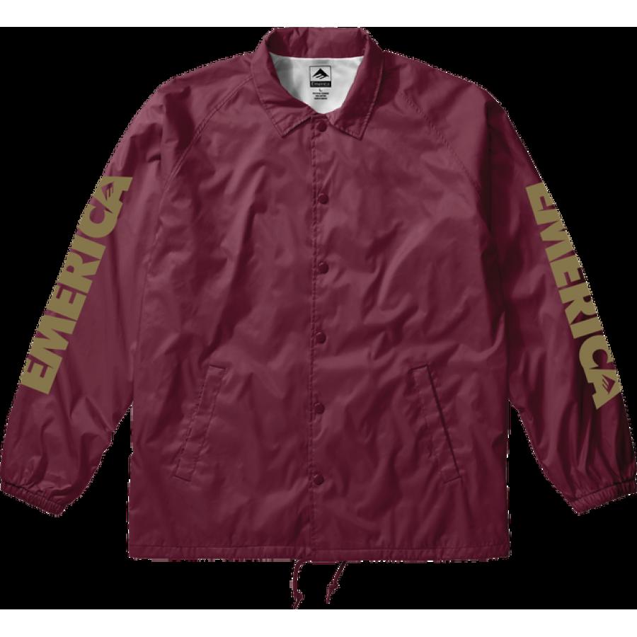 Emerica Bold Sidearm Jacket - Maroon