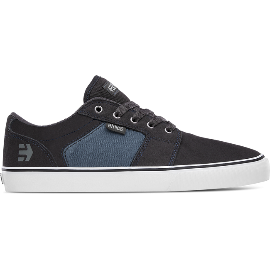 Etnies Barge LS - Dark Grey/Blue