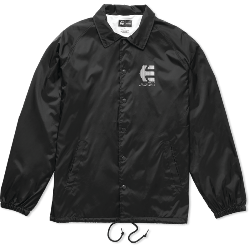 Etnies Ply Coaches Jacket - Black