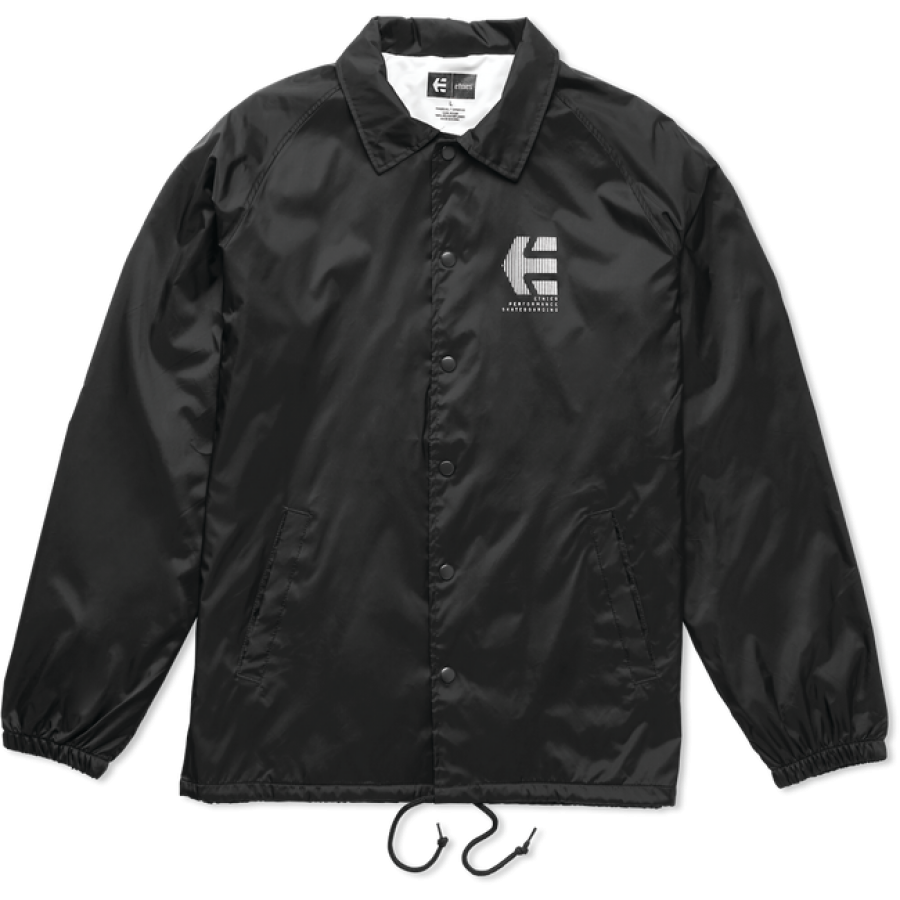 Etnies Ply Coaches Jacket - Black