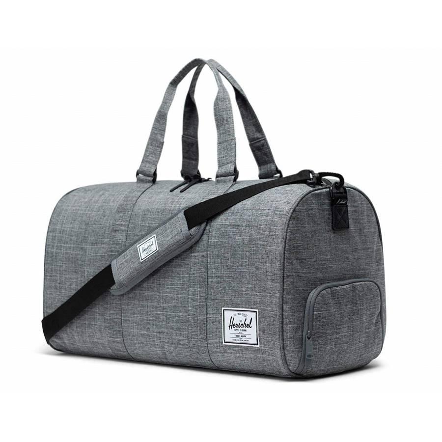 Herschel CO Novel Duffle Bag - Raven Crosshatch