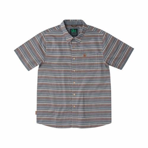 Hippytree Montauk Woven Shirt - Brown