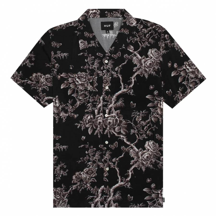 Huf Highline Woven Shirt - Black