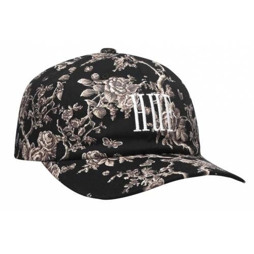 Huf Highline Curved Visor Hat - Black