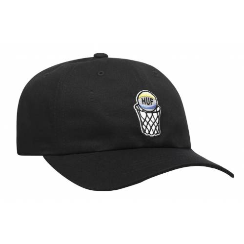 Huf Ungrateful Fools Curved Visor Hat - Black
