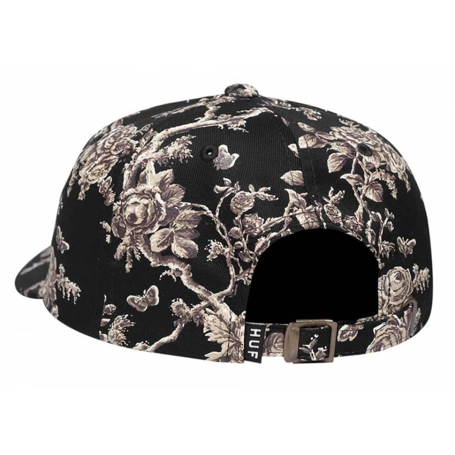 Huf Highline Curved Visor Hat - Black
