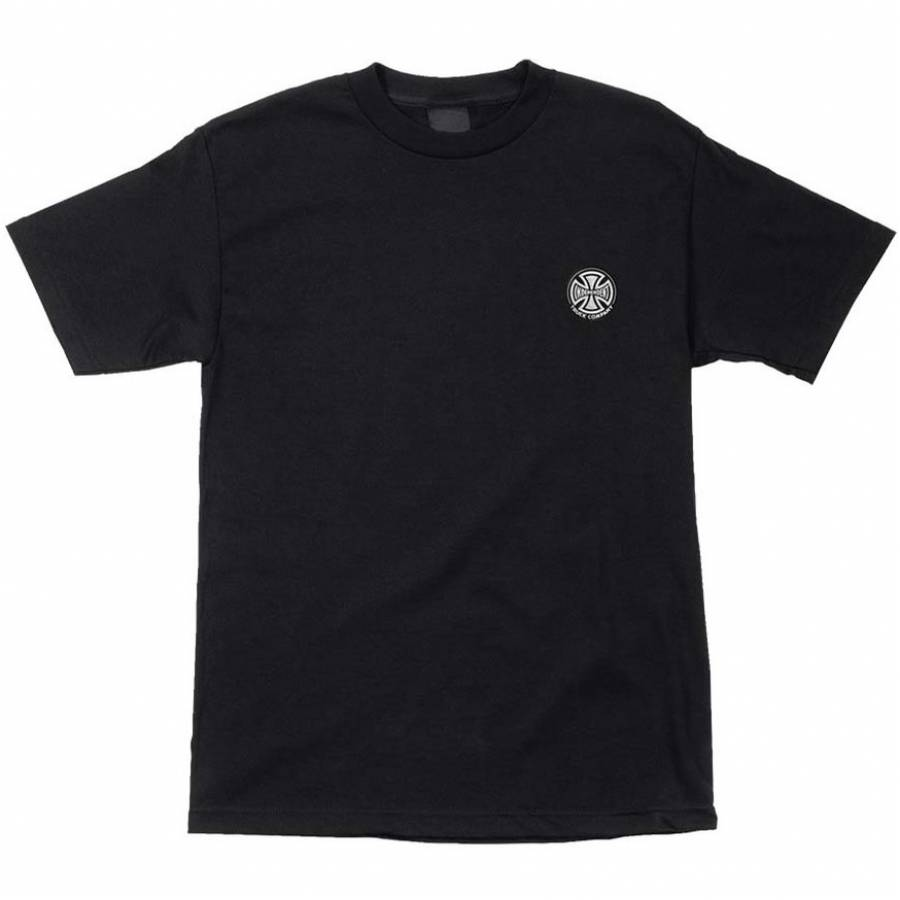 Independent Embroidery Tee - Black