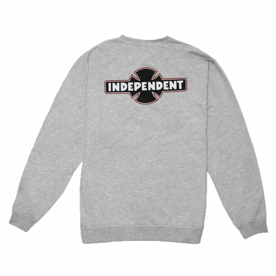 Independent Dual Pinline O.G.B.C Crew - Athletic Heather