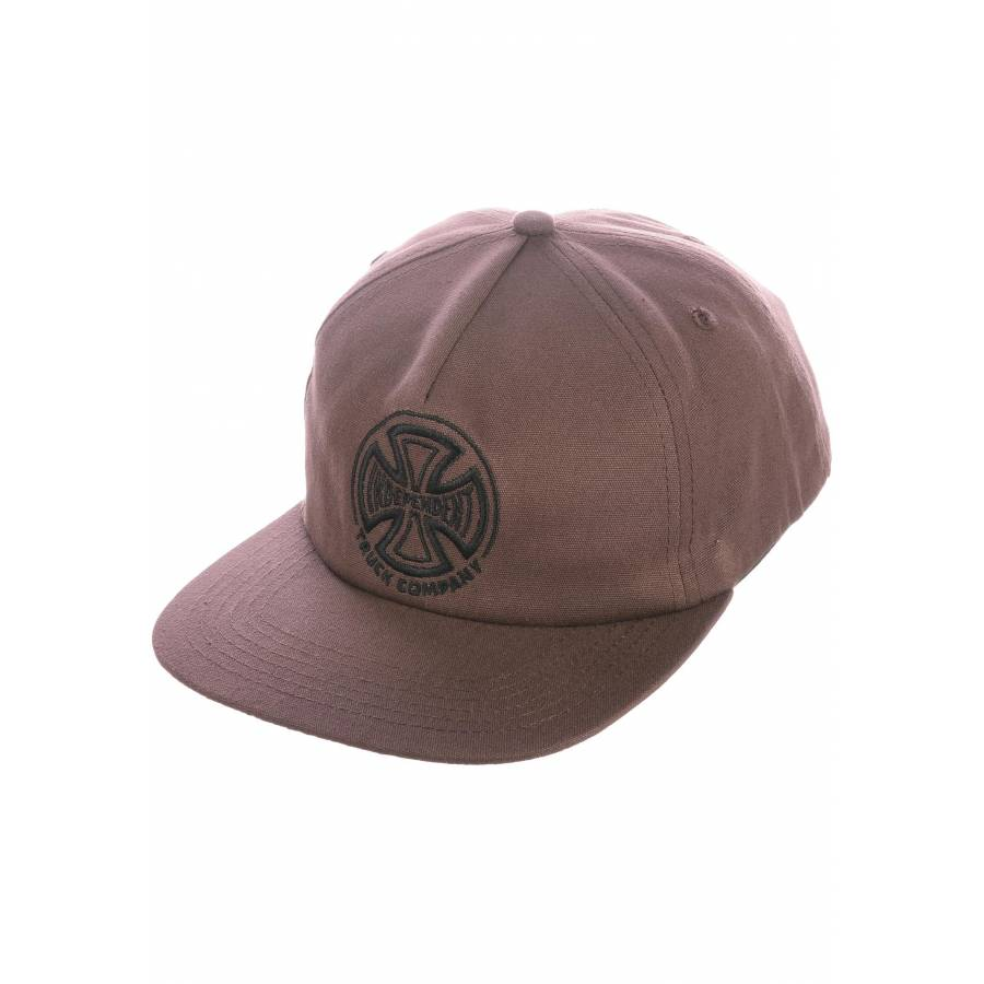 Independent TC Embroidery Cap - Chocolate