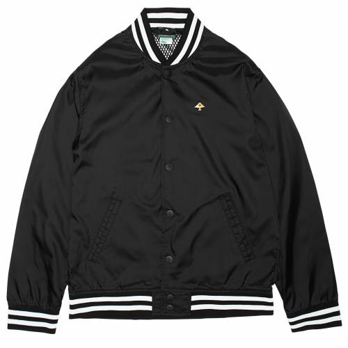 LRG Exotics Bomber Jacket - Black Onyx