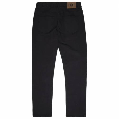 LRG Slim Straight Twill Pant - Black