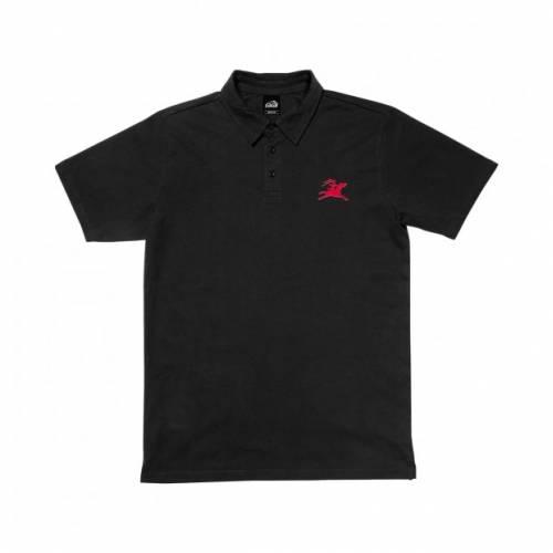 Lakai Gallop Polo Shirt - Black
