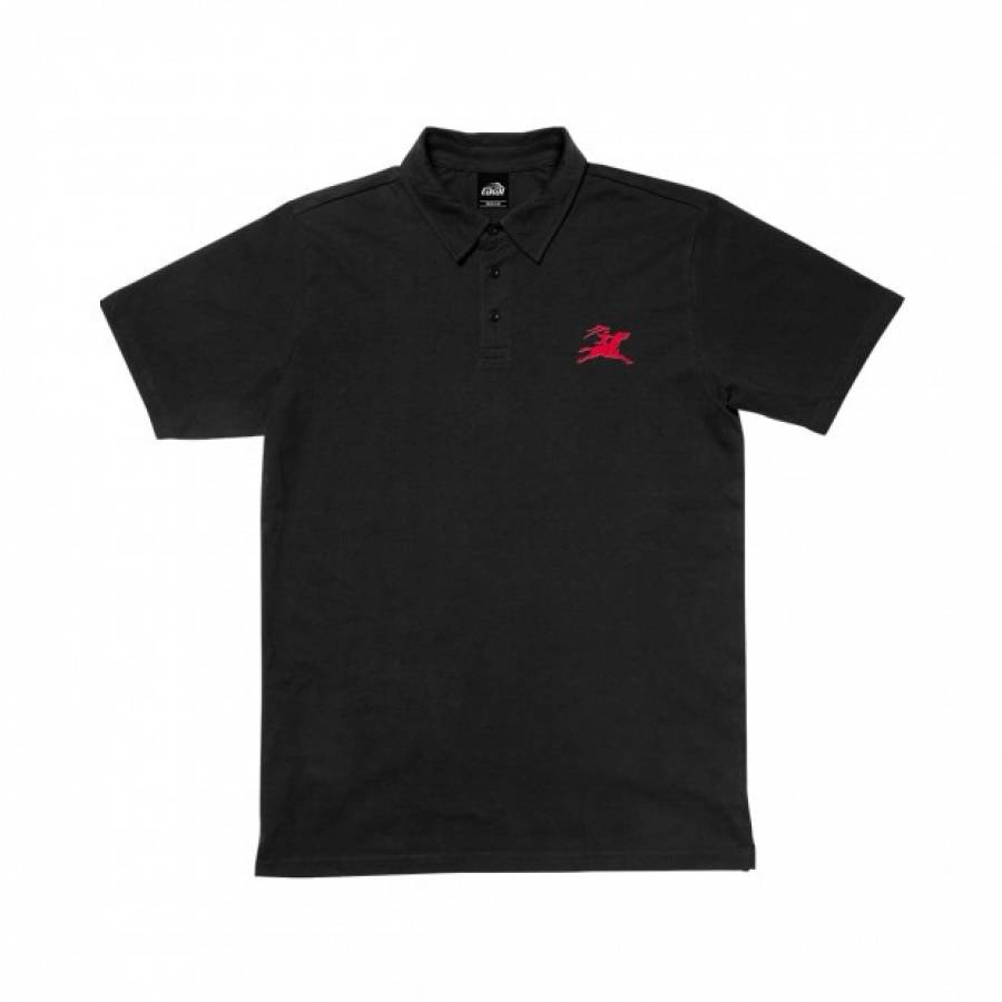 Lakai Gallop Polo Shirt - Black