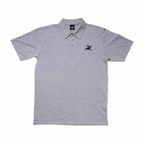 Lakai Gallop Polo Shirt - Athletic Heather