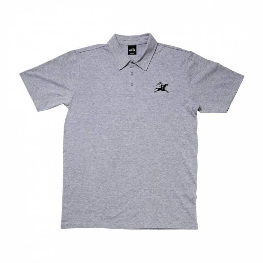Lakai Gallop Polo Shirt - Athletic Heather