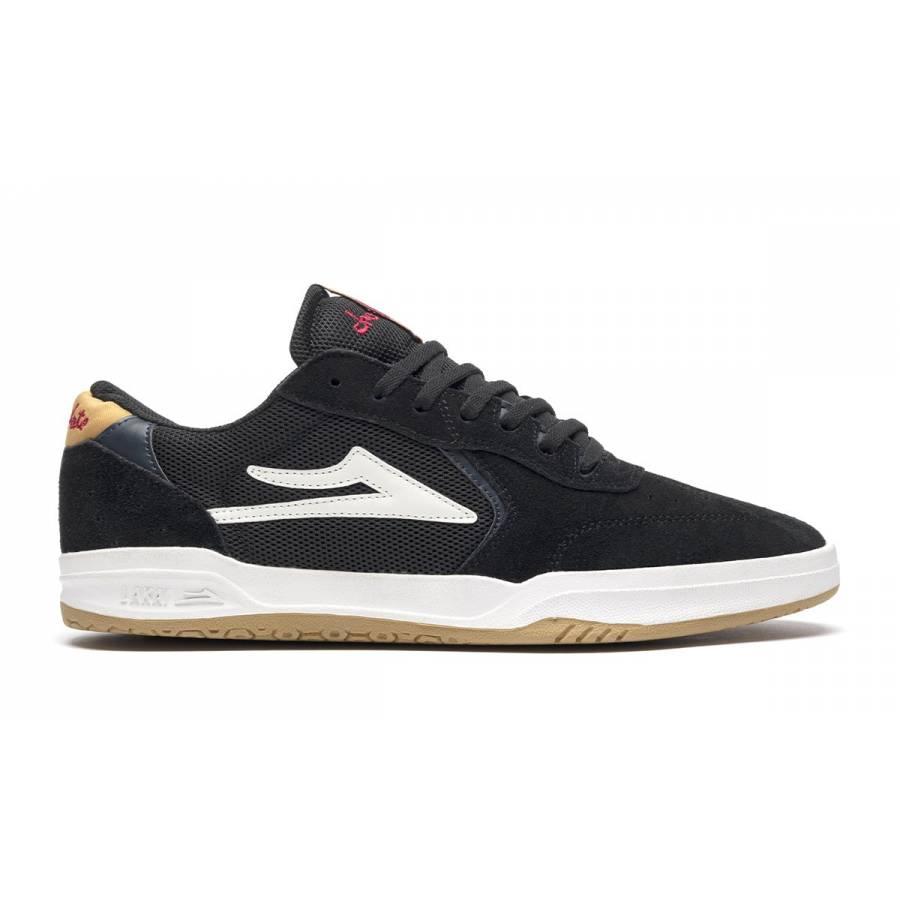 Lakai Atlantic shoes - Black / Yellow Suede