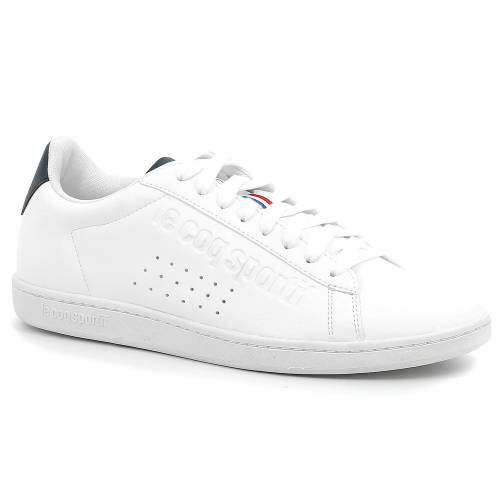 Le Coq Sportif Courtset Sport - White/Dress Blue